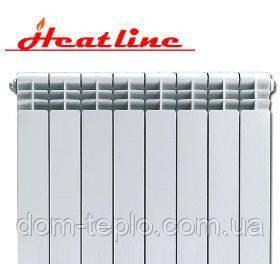 Радиатор биметаллический HeatLine Extreme 500/96 секционный