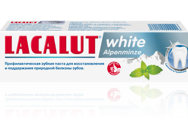 Лакалют Уайт Алпенминз зубная паста 75мл