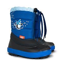 Детские зимние сапоги-дутики Demar (Демар) KENNY синие р.30--35 теплющие