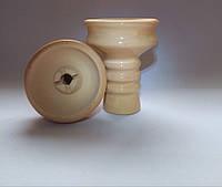 Чаша для кальяна - Глиняная в глазуре, наружная под калауд. v.3