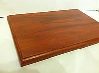 Плакетка (подложка для диплома) MDF 20x30 (яблоня структурная,двухсторонняя ламинация)
