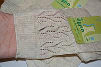 Женские носки, бежевые. Разм.38-40