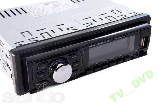 Автомагнитола FM USB MP3 SD СЬЕМНАЯ ПАНЕЛЬ