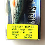 Воблер для спиннинговой рыбалки Condor L Classic Boxer, 45мм, 7г, 0-0.3м, цвет 259, фото 3