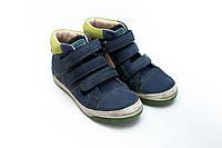 Кожаные ботиночки D.D.Step синие (31-36)