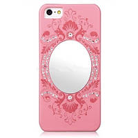 Чехол для iPhone 5 5S SE Joyroom Swarovski с зеркалом, фото 1