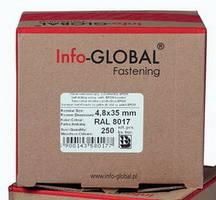 Саморізи Info-Global 4,8x35 mm по дереву