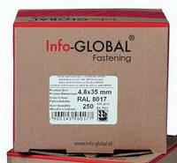 Саморізи Info-Global 4,8x19 mm по металу