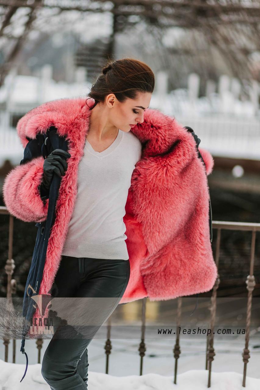 Куртки парки зимние женские с мехом