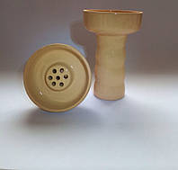 Чаша для кальяна - Глиняная в глазуре, наружная под калауд.v.2