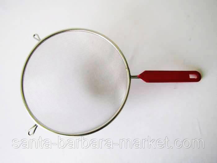 """Сито """"красная ручка""""  Ф=21см   №14656"""