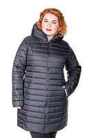 Куртка зимняя размер плюс женская Катрина черный