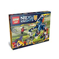 Nexu Knights. Детские конструкторы. 250 деталей. Лего конструктор Nexu Knights 14002. от 6 лет. Конструкторы
