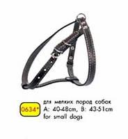 CoLLar шлея для мелких собак кожаная (0634)
