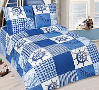 Подростковое постельное белье Мореход, поплин 100%хлопок - полуторный комплект