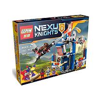 Новинка Лего! Конструктор Nexo Knights Библиотека Мерлока 14007, 303 детали. Конструктор Nexu Knights 14007.