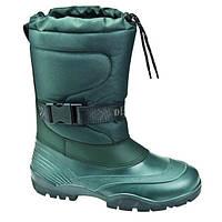 Зимние сапоги-сноубутсы Demar Condor зеленые р.39,40,41 для мальчиков подростков войлок-иск. мех