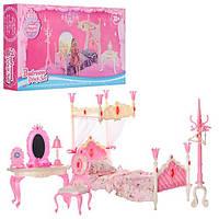 """Мебель для кукол (барби) """"Спальня"""" 689-3"""