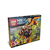 Конструкторы Лего. Новинка! Конструктор Lepin 14003 Nexu Knight Moltor Smash, 198 деталей, от 8 лет.