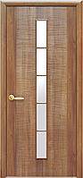 """Двери межкомнатные ПВХ со стеклом 1S """"ДЮНА"""""""