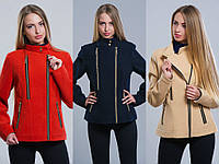 Пальто-куртка женское кашемировое №1 (р.42-48)