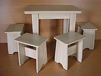 Стол кухонный раскладной К 107 (ТМ АС - Мебель)