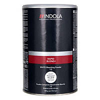 Беспылевой осветляющий порошок белый Indola Profession Rapid Blond+ White Dust-Free Powder 450gr