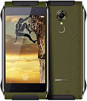 "Homtom HT20 green ip68 2/16 Gb, 4.7"", MT6737, 3G, 4G"