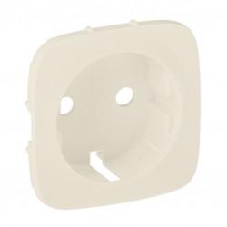 Лицевая панель розетки с заземлением, слоновая кость - Legrand Valena Allure