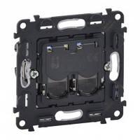 Механизм телефонной розетки RJ11 UTP, 2-гнезда - Legrand Valena Allure