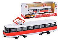 Коллекционная модель трамвай металлический масштаб 1:87