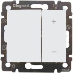Диммер кнопочный, 40-400 Вт, белый - Legrand Valena