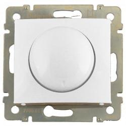 Диммер поворотный, 40-400 Вт, белый - Legrand Valena