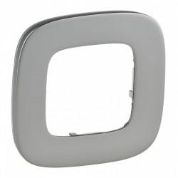 Рамка на 1-пост, полированная сталь - Legrand Valena Allure