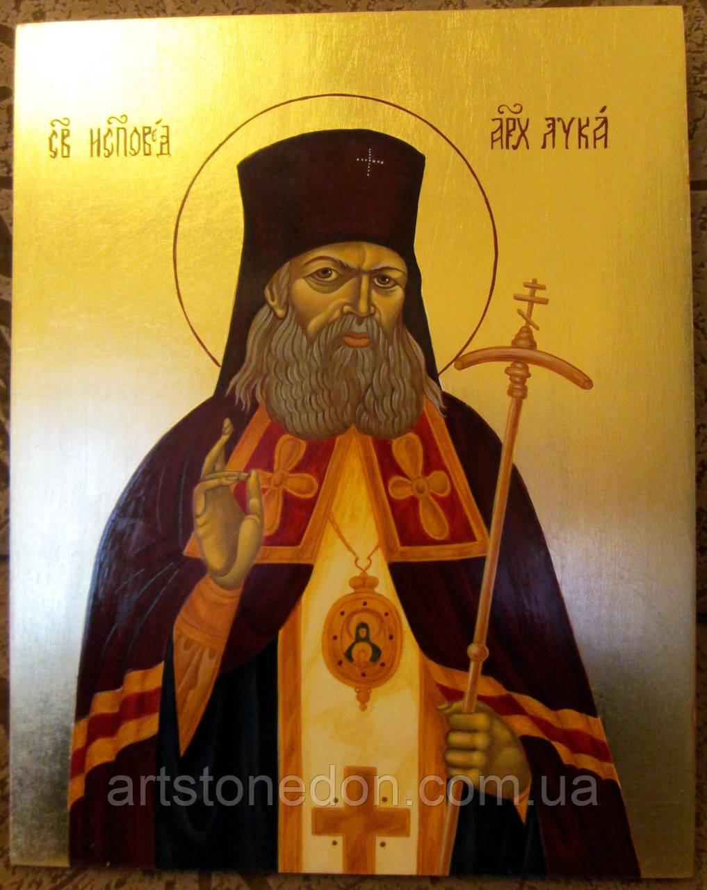 Икона писаная Святой Лука