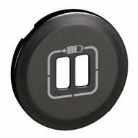 Лицевая панель зарядного устройства USB, графит - Legrand Celiane