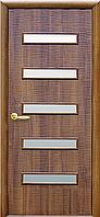 """Двери межкомнатные ПВХ с матовым стеклом 5S """"САХАРА"""""""