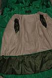 Зимняя куртка на девочку Мишель 134 р зеленая арт 85-00., фото 7
