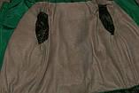 Зимняя куртка на девочку Мишель 134 р зеленая арт 85-00., фото 9