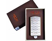 Зажигалка подарочная HETAI с голосовым управлением (спираль накаливания, USB) №4688-1 SO