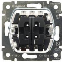 Механизм выключателя управления жалюзи, механическая блокировка - Legrand Galea Life