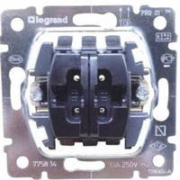 Механизм выключателя управления жалюзи, без фиксации, электрическая блокировка - Legrand Galea Life