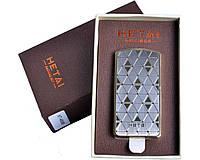 Зажигалка подарочная HETAI с голосовым управлением (спираль накаливания, USB) №4688-4 SO