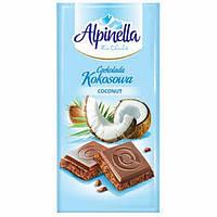 Alpinella Молочный шоколад c кокосом 90 г (Польша)