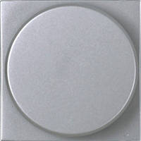 Светорегулятор поворотный для люминесцентных ламп, 700 Вт/ВА, серебряный - ABB Zenit