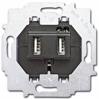 Механизм зарядного устройства с USB-разъемом - Abb Busch-Jaeger Elektro
