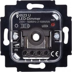 Механізм світлодіодного світлорегулятора, поворотно-натискний, 2-100 Вт/ВА - Abb Busch-Jaeger Elektro