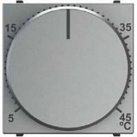 Термостат для теплого пола с датчиком температуры, серебряный - ABB Zenit