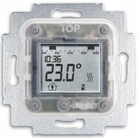 Механизм электронного терморегулятора для теплых полов с таймером и датчиком температуры - Abb Busch-Jaeger Elektro