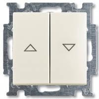 Выключатель жалюзи с фиксацией, chalet-белый - Abb Basic 55